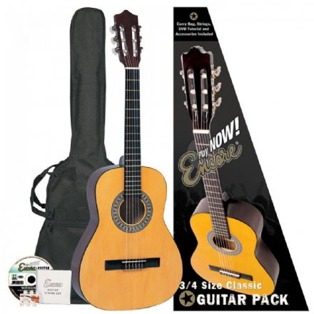 Encore 3/4 Size Classical Guitar Outfit